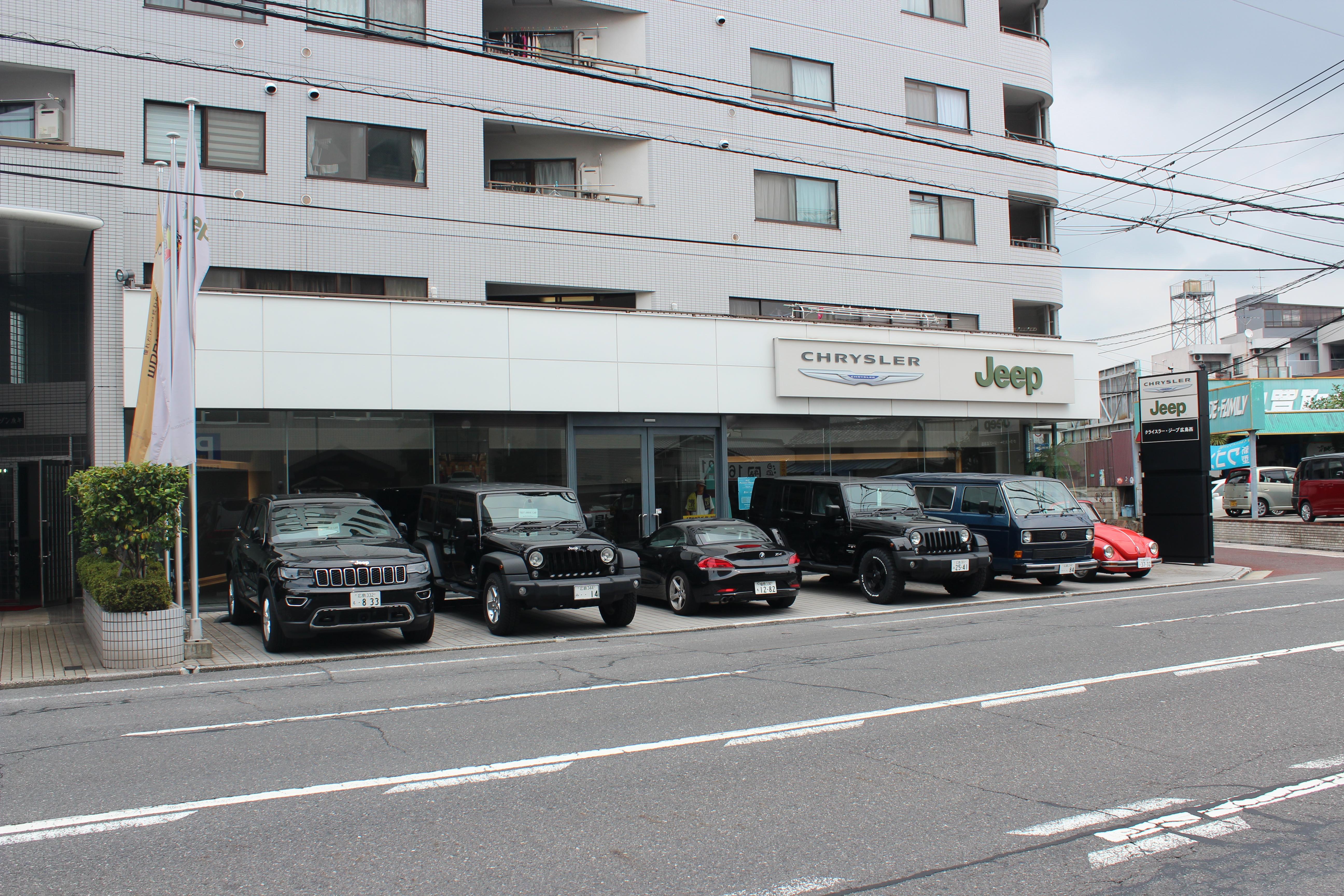 ジープ広島西でレネゲードを見てきました!