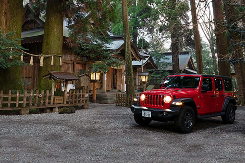 ジープ広島西 Jeep Wrangler Unlimited Overland デビュー
